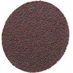 1 Inch Coated Quick Change Disc, TR Roll-On/Off Type 3, 100, Medium, 50 Pk