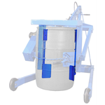 Adapter For Rimmed 208-Litre Plastic Drum With Omni-Lift Drum Racker