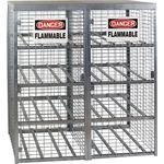 Galvanized Cylinder Storage Cabinet