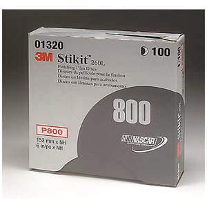 3M 01320 Psa Disque de Ponçage Polypropylène 6 Pouces P800g - Paquet De 400 | AB9JQT 2DLK1
