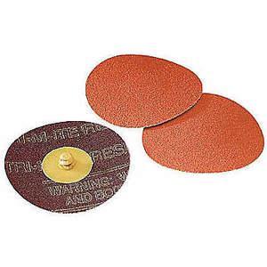 3M 76436 Disque de verrouillage en céramique 2 po, grain 40, paquet de 200 | AB9BUJ 2AYE4
