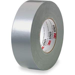 3M 6969 Cinta adhesiva para ductos 2 pulgadas x 60 yardas 10.5 mil Plata | AA6ZFP 15F769