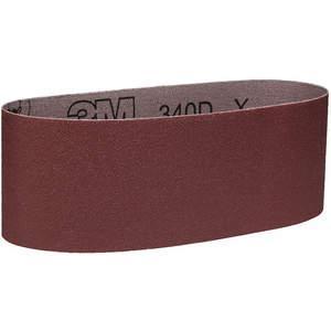 3M 27472 Cinturón de lijado de 3 pulgadas de ancho x 24 pulgadas de largo Ao 80gr - Paquete de 50 | AB9BXN 2AZH2