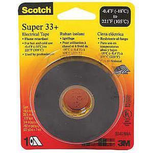 Taśma elektryczna 3M 33-3 / 4x36YD 3/4 x 108 stóp 7 mil Opakowanie 48 sztuk | AB9KRZ 2DPU6