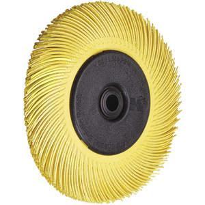 3M 33082 Brosse à poils radiaux, diamètre 8 x 1 W, grain 80 - paquet de 2   AB9JPG 2DKZ2
