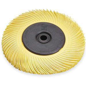 3M 33215 Radial Bristle Brush Tc 6 Diameter x 7 / 16w 80 Grit | AA9NRW 1ED43