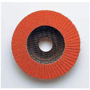3M 49615 Disque à lamelles à montage sur arbre 4-1 / 2 po 60 grossier - paquet de 10 | AB9JQF 2DLF9