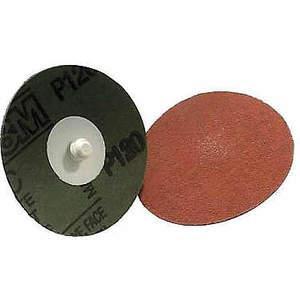 3M 49940 Disque de verrouillage en oxyde d'aluminium 3 po, grain 60 Tsm - paquet de 200 | AB9BVZ 2AYW3