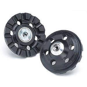3M 56479 Backup Pad 4 Zoll Durchmesser Rollon / Off 3 / 8-24 Pk5 | AB9CCU 2BAH4