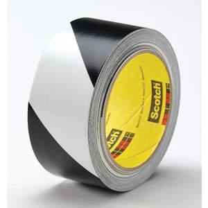 3M 5700 Rouleau de Ruban de Marquage 3 Pouces W Noir / Blanc - Paquet de 12 | AB9HQX 2DEE2