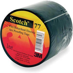 3M 77 Black-1-1 / 2x20 ft Ruban électrique 1-1 / 2 x 20 pieds 30 mil noir | AA9VRQ 1GAA4