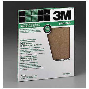 3M 99403 Hoja de lijar 11 x 9 pulgadas 120 G Óxido de aluminio - Paquete de 250 | AB9BUW 2AYJ7