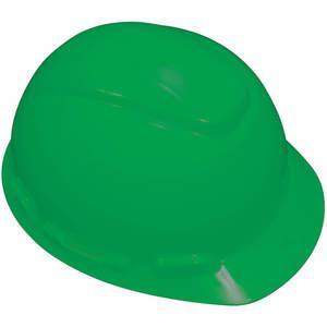 3M H-704R-UV Hard Hat med Uvicator 4-punkts skralde grøn | AB6FRJ 21E388