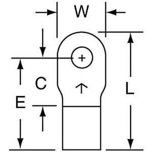 Cosses annulaires 3M M10-4R / SK soudées nues 12 à 10 - paquet de 500 | AB9KVG 2DRF9