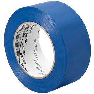 3M 4-50-3903-BLUE Ruban adhésif en toile, 4 x 50 verges, 6.3 mil, vinyle bleu | AA6XAG 15D153