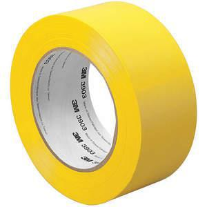 3M 4-50-3903-YELLOW Duct Tape 4 x 50 verges, 6.3 mil, vinyle jaune | AA6XAM 15D158