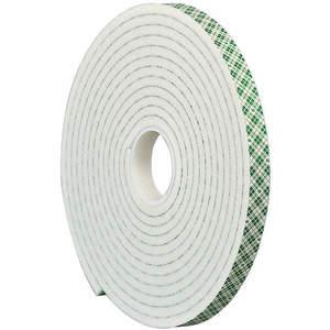 3M 4004 Double Coated Tape 1/4 x 5 yard White | AA6VGT 15C134