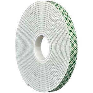 3M 4008 Dubbelzijdige Tape 3 / 4In x 5 yard Wit | AA6VHE 15C145