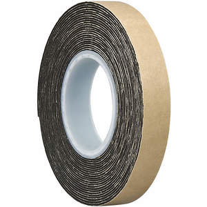3M 4492 Double Coated Tape 3/4 x 5 Yard Schwarz | AA6VLT 15C262