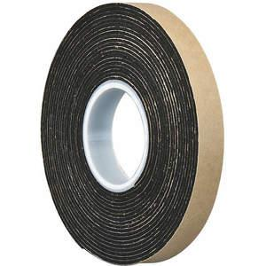 3M 4496 Double Coated Tape 3/4 x 5 yard Black | AA6VMF 15C274