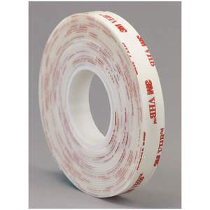3M 4950 Double Sided Vhb Tape 1 x 5 yd White | AA6VRH 15C370