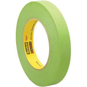 3M 233+ Masking Tape Groen 3/8 Inch x 60 yard | AA6WXV 15D087