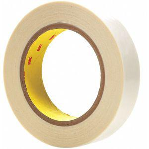 3M 444 Double Sided Film Tape, Acrylic Adhesive, 4.00 mil Thick, 12 mm x 33m, Clear | CD2MHH 54EN55
