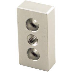80/20 2129 Base Plate 3 / 8-16 Tap Center For 10s | AC3BPH 2RCV2