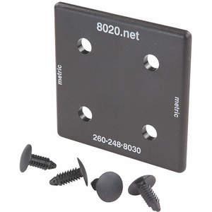 80/20 25-2028-2 25-5050 용 엔드 캡-2 개 팩 | AE4EVH 5JRF4