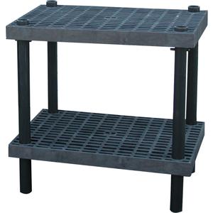ADD-A-LEVEL AW3624 Adjustable Workbench, 36 L x 24 W, Grid Top | AG8EQF