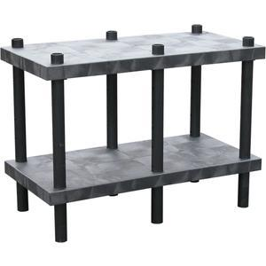 ADD-A-LEVEL AWT4824 Adjustable Workbench, 48 L x 24 W, Solid Top | AG8EQJ