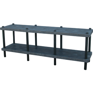 ADD-A-LEVEL AWT9624 Adjustable Workbench, 96 L x 24 W, Solid Top | AG8EQN