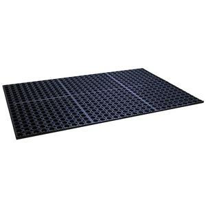 ADD-A-LEVEL M35780 Work Platform Matting, 66 x 36, 7/8 Height, Black Mat | AG8ENF
