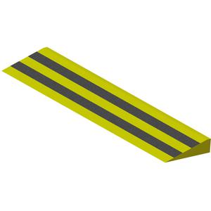 ADD-A-LEVEL R1104 Wooden Ramp, 4 L x 10 W x 2-5/8 H | AG8EPB