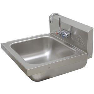 ADVANCE TABCO 7-PS-49 para lavabo con salpicadura de acero inoxidable   AF9EHJ 29VK74