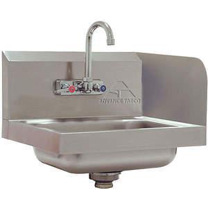 ADVANCE TABCO 7-PS-66R para lavabo con salpicadura de acero inoxidable | AF9EHN 29VK78