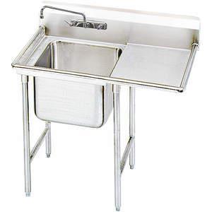 ADVANCE TABCO 9-41-24-24R Fregadero de lavadero con piso de tabla de drenaje derecho | AF4FJN 8UTK1