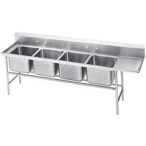 ADVANCE TABCO 9-44-96-24R Fregadero de cocina con piso de tabla de drenaje derecho | AF4MHE 9CEV2