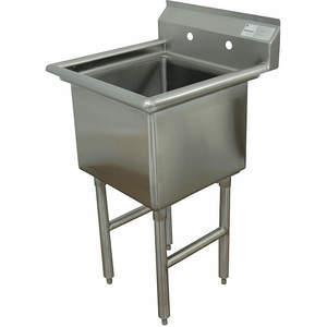ADVANCE TABCO Fregadero de cocina sin grifo FC1-2424-X de 29 pulgadas de largo | AA3TAB 11U363