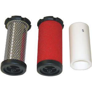 AIR SYSTEMS INTERNATIONAL BB100-FK 교체 용 필터 키트, 100-175 Cfm   AD2EHL 3NRC7