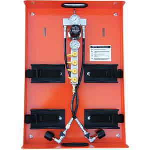 AIR SYSTEMS INTERNATIONAL PAK-3 에어 실린더 트레이, 2- 실린더, 4500 Psi | AA4PPD 12X226