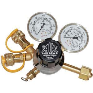 AIR SYSTEMS INTERNATIONAL RG-3000-2Y 호흡 공기 조절기, 피팅 2 개, 3000 Psi | AA6HTF 14A066