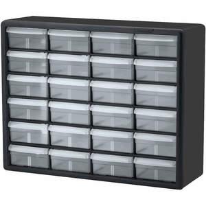 AKRO-MILS 10124 Drawer Bin Cabinet 6-3/8 Inch D 20 Inch Width | AF4LQE 9AGY9