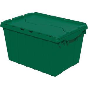 AKRO-MILS 39120GRN Attached Lid Container 1.62 Cu Feet Green | AA8DWV 18C526