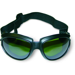 ALLEGRO 06AC-1301 Action Goggles, IR3 Green Lens, Green Hardcoated Mirror, 1 each | AG8EWR