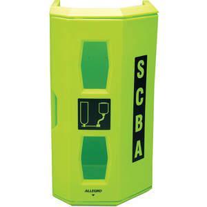ALLEGRO 4150ScbaウォールケースHiViz Green Linear Ldpe | AD2EGZ 3NPY7