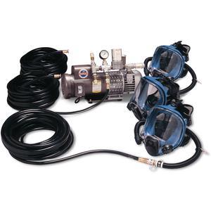 ALLEGRO 9210-03 3ワーカーフルマスク低圧システム、2〜12 psi、115 V | AD2ZCR 3WYJ8