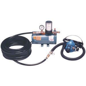 ALLEGRO 9205-01 1ワーカーハーフマスク低圧システム、50フィートホース| AF3PUC 8AN98