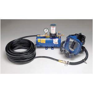 ALLEGRO 9210-01フルマスク低圧システム、100フィートのホース、1人の作業員がサービスを提供| AF3XYF 8EUR9