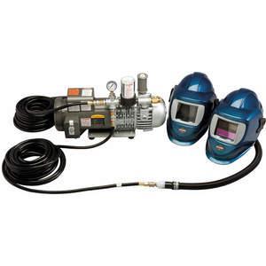 ALLEGRO 9248-02 15人用デラックスシールドおよび溶接ヘルメットシステム、7 psi | AB23KPZ 38UAXNUMX